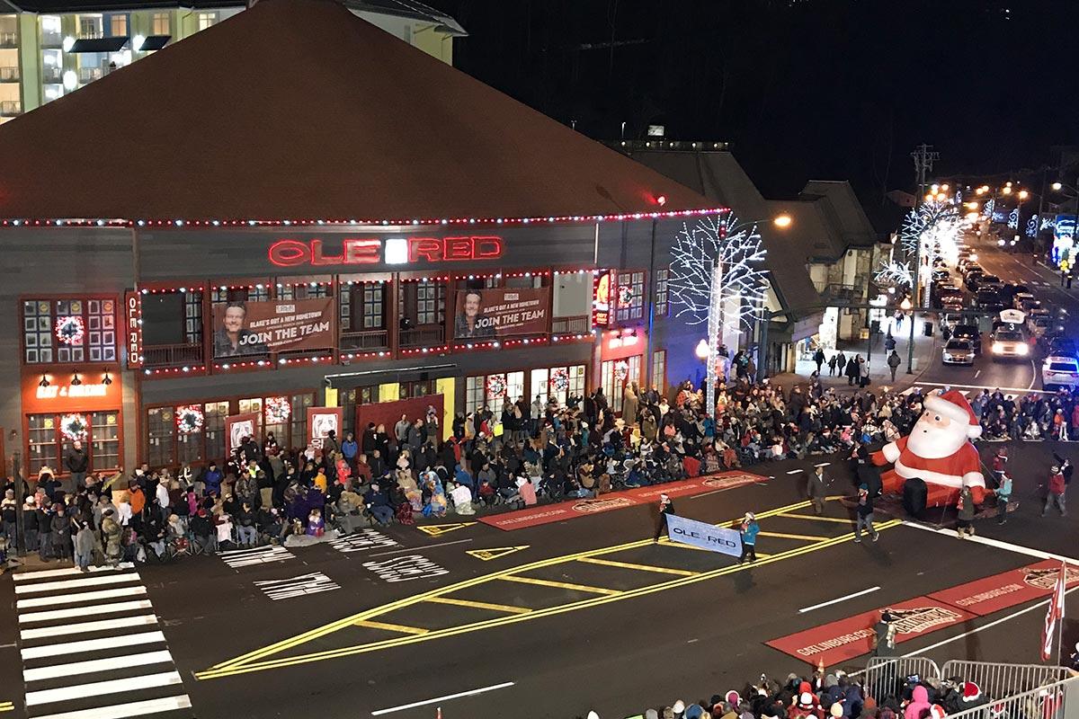 Gatlinburg Christmas.43rd Annual Fantasy Of Lights Christmas Parade Local Airings