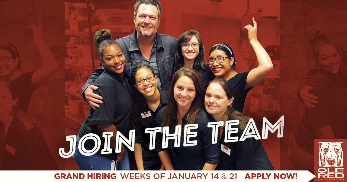 Join the team! Grand hiring weeks of January 14 & 21, apply now!