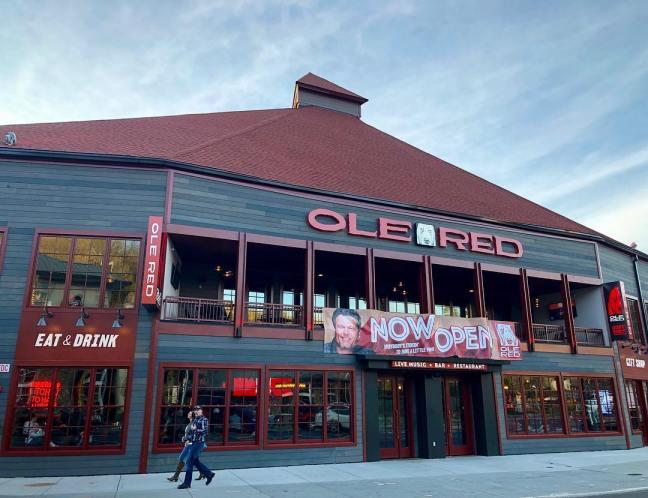 Ole Red Gatlinburg - Now Open