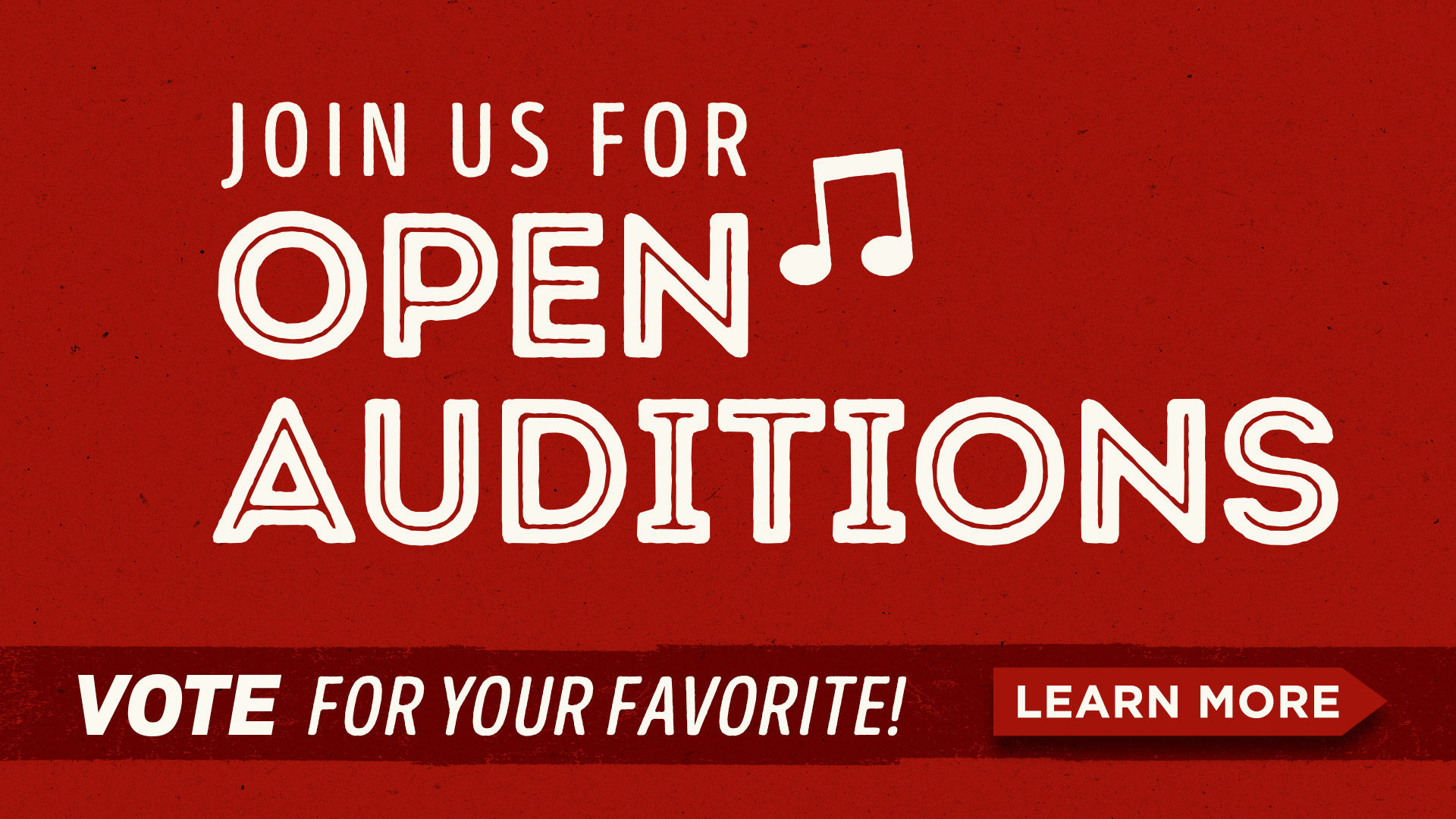 Open Auditions at Ole Red Gatlinburg