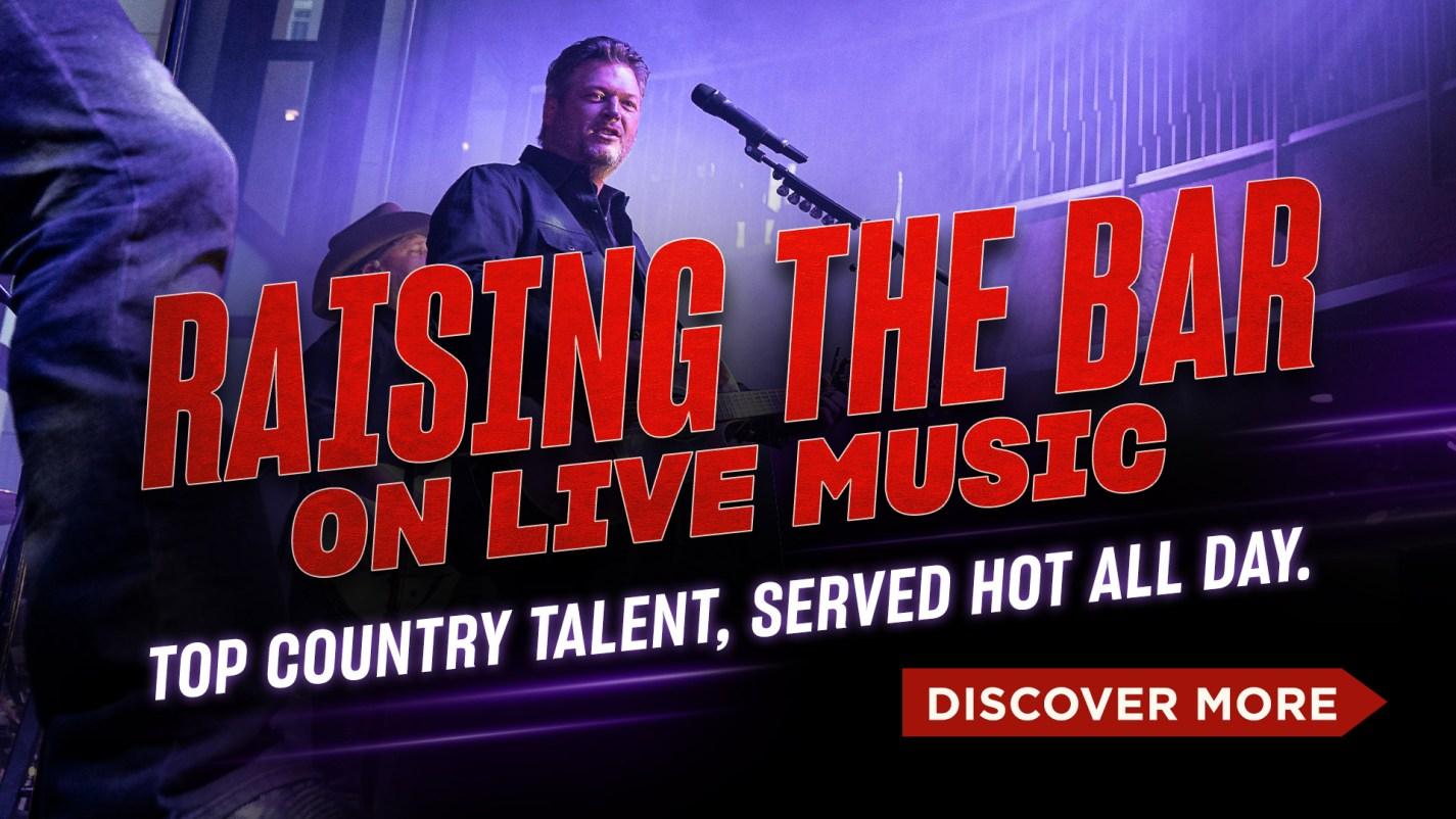 Raising The Bar On Live Music - View Calendar