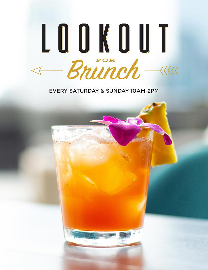 Lookout For Brunch – Every Saturday & Sunday, 10 AM – 2 PM – The Lookout at Ole Red