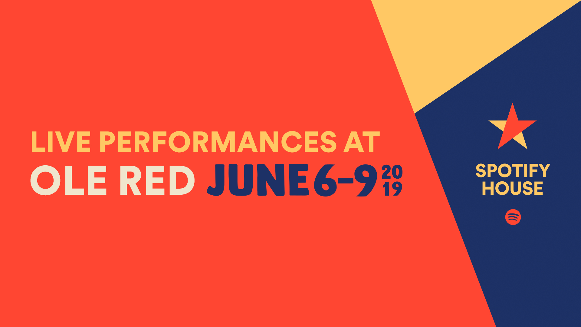 Spotify Presents Live Performances at Ole Red