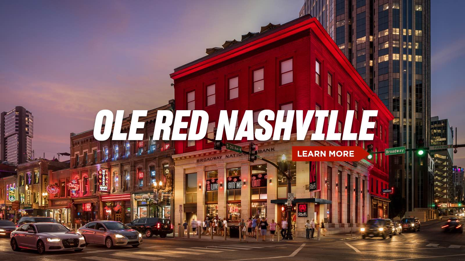 Ole Red Nashville - Learn More