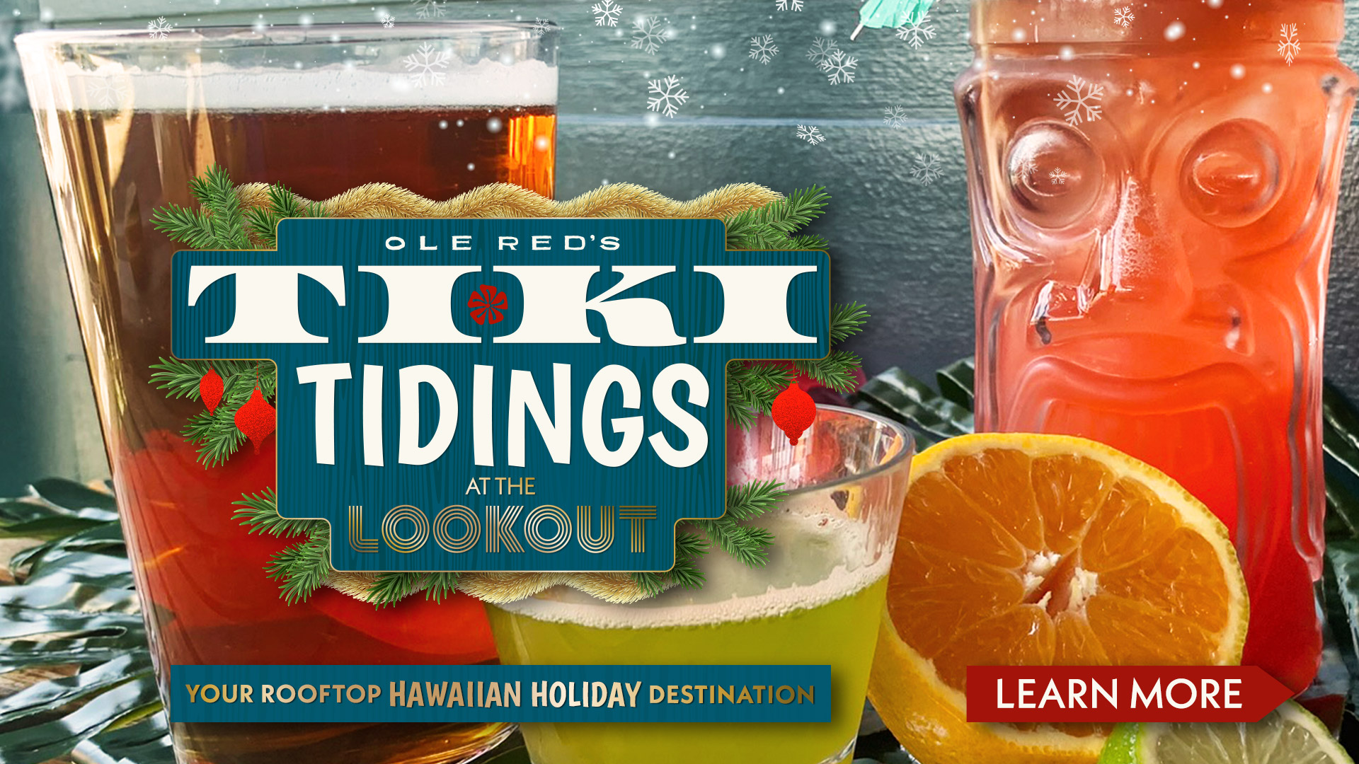 Tiki Tidings At the Lookout