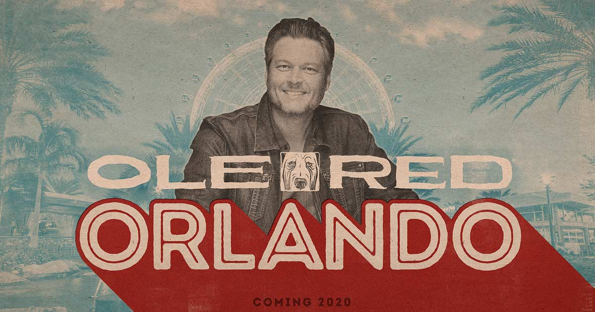 Red New Album 2020 Blake Shelton and Ryman Hospitality Properties, Inc. To Bring Ole