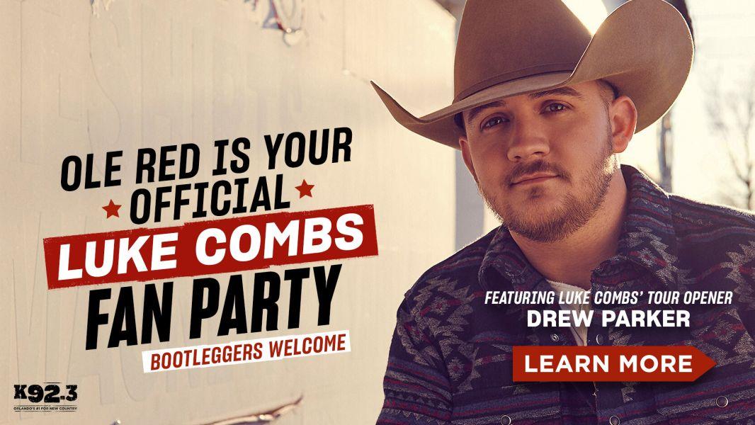 Luke Combs-Fan Party-Learn More