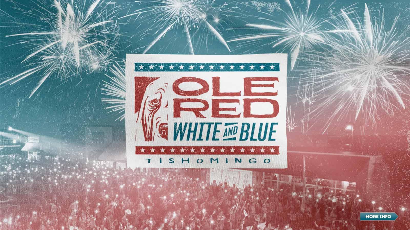 Ole Red White and Blue - Tishomingo