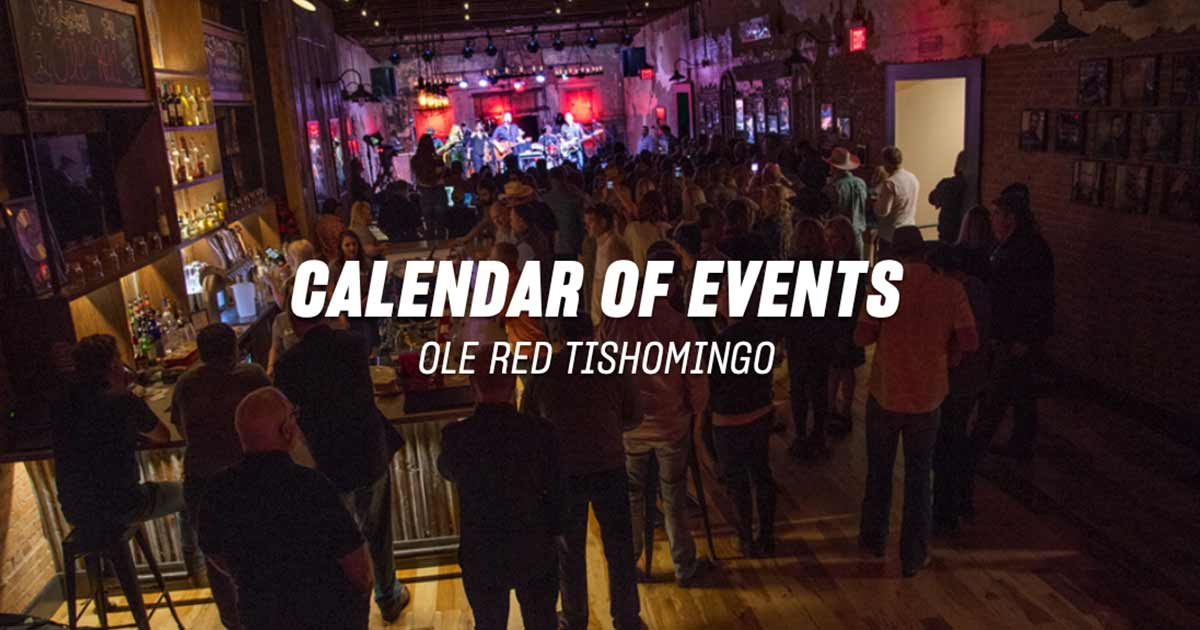 Events Archive - Ole Red Tishomingo