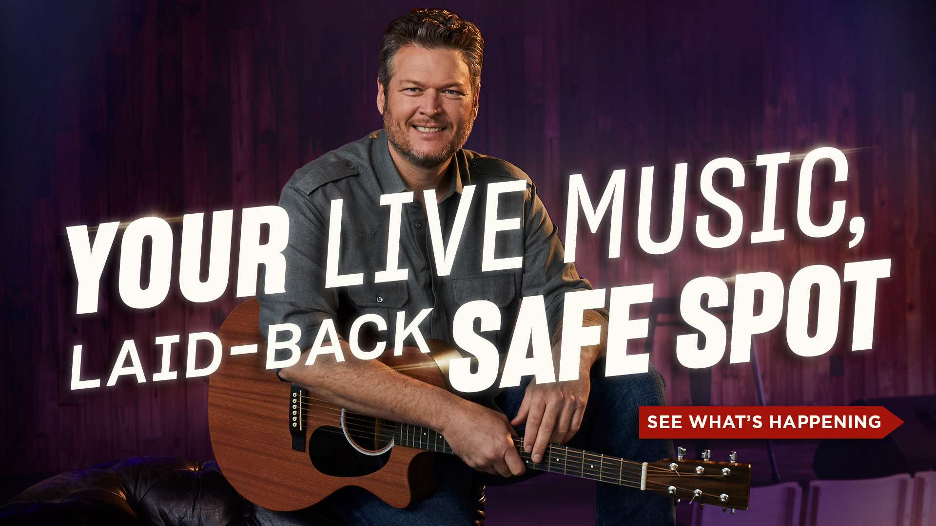 You Live Music, Laid-Back Safe Spot - Click to See What's Happening