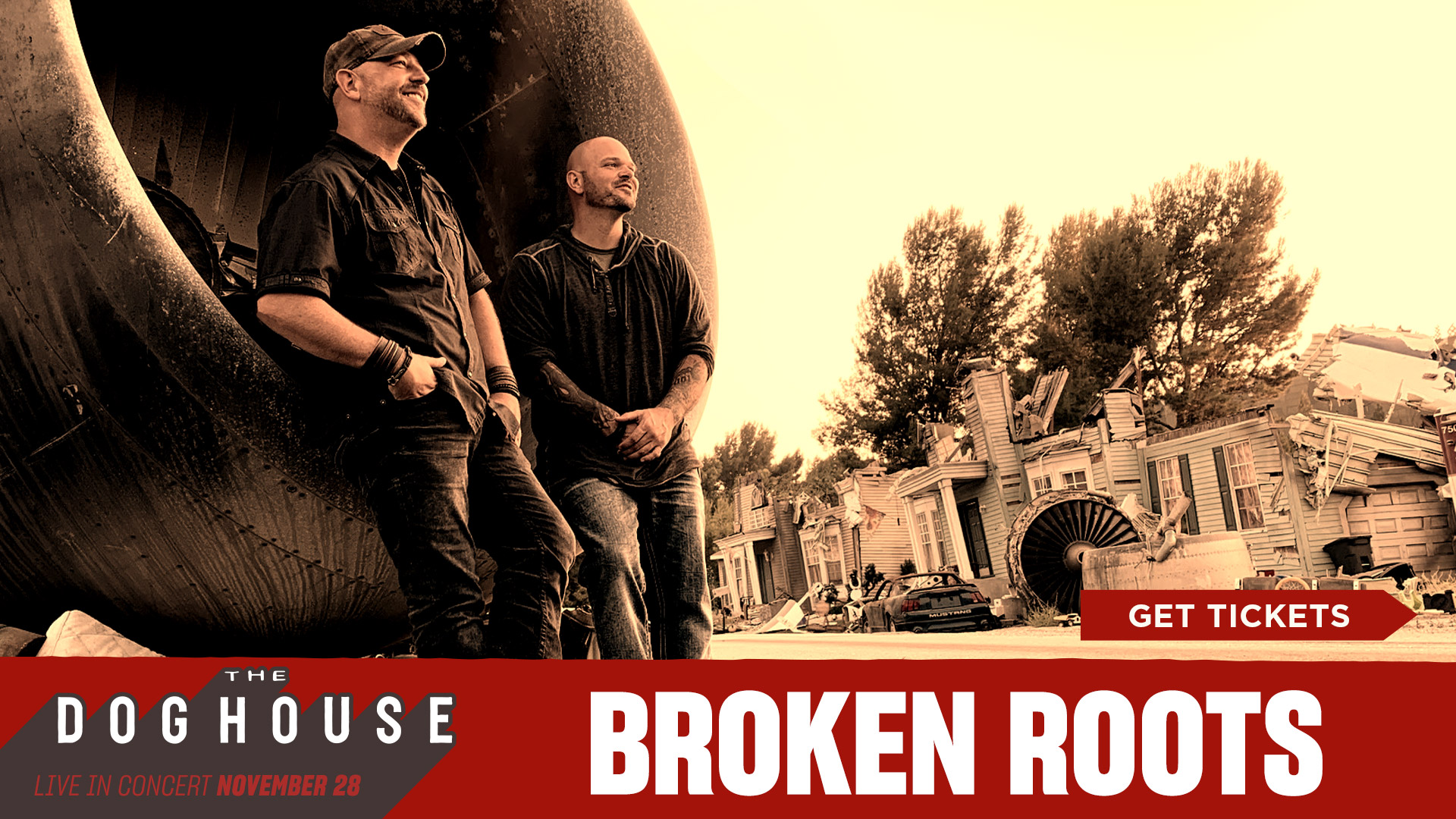 Broken Roots - Get Tickets