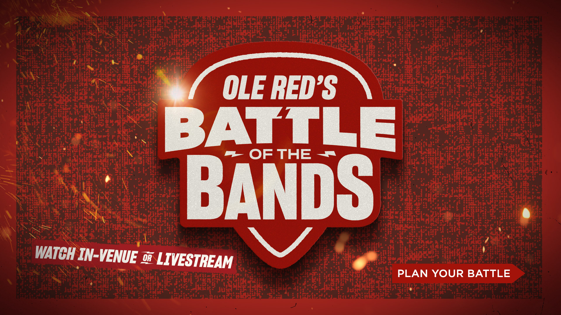 Ole Red Battle of the Bands - Plan your Battle