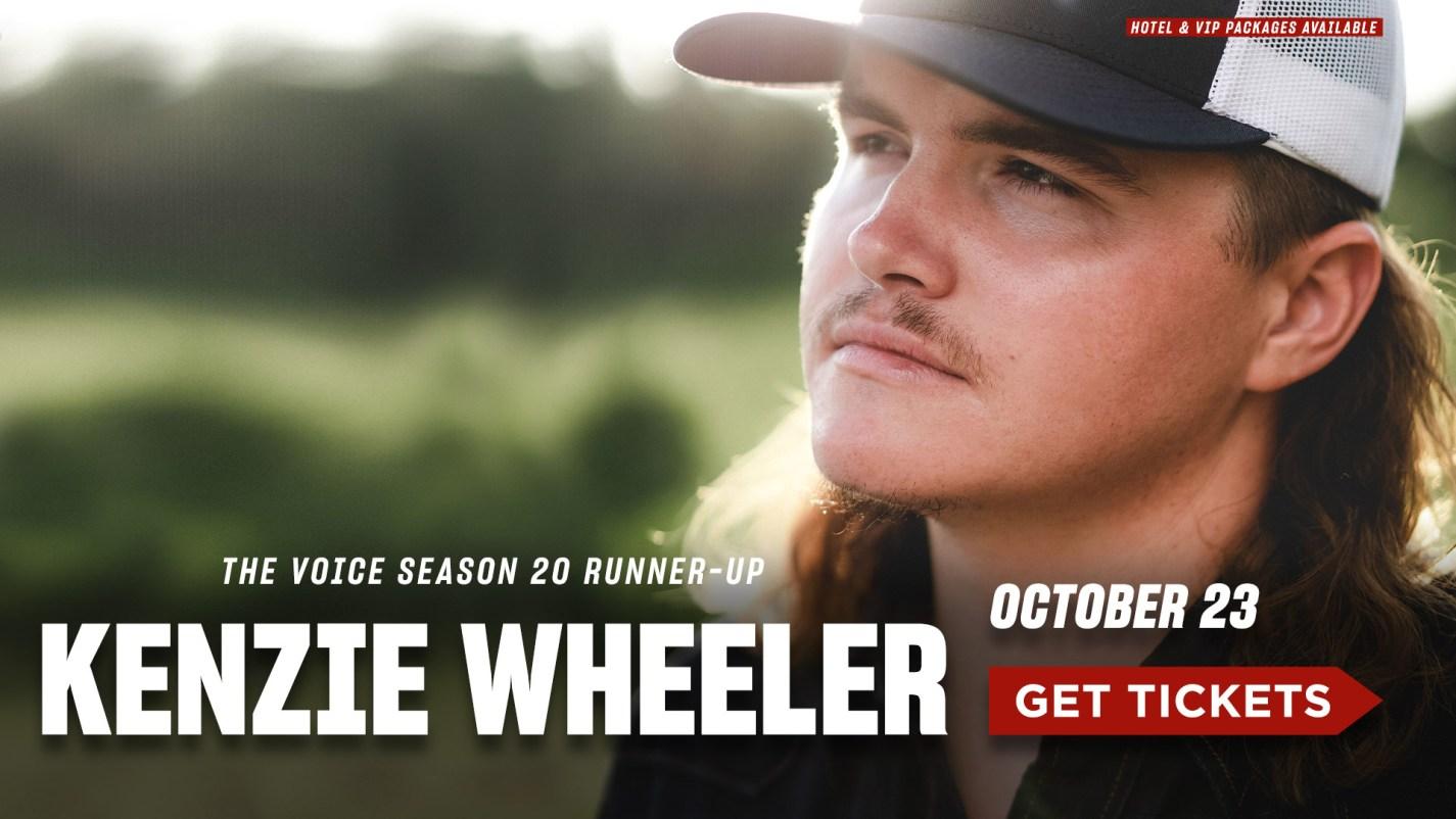 Kenzie Wheeler- October 23- Get Tickets
