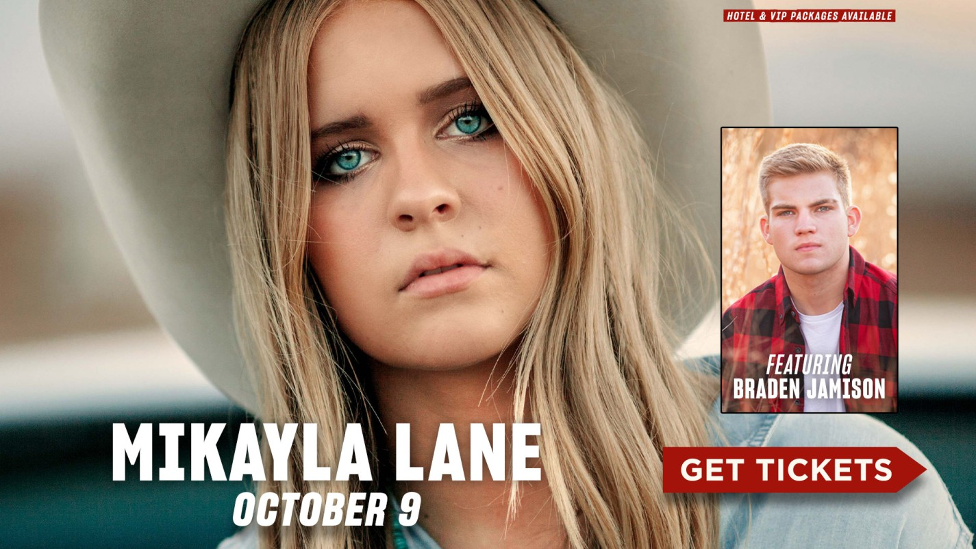 Mikayla Lane- October 9- Get Tickets