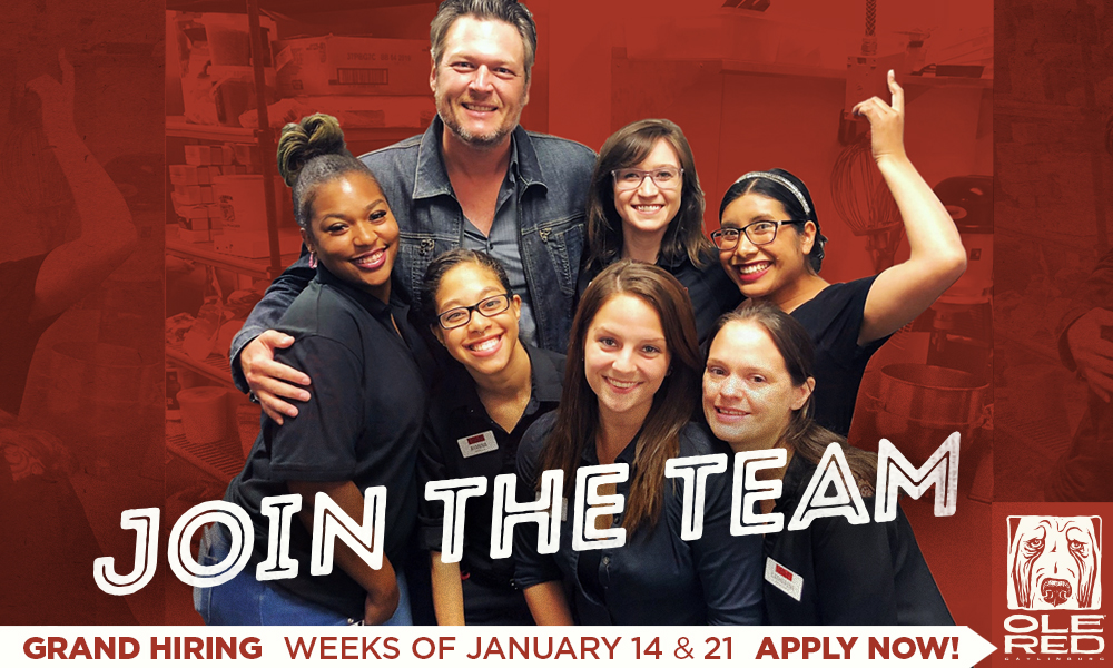 Join The Team! Grand Hiring Weeks of January 14 & 21: Apply Now!