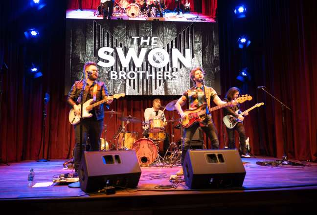 The Swon Brothers perform for a private VIP Event at Ole Red Gatlinburg