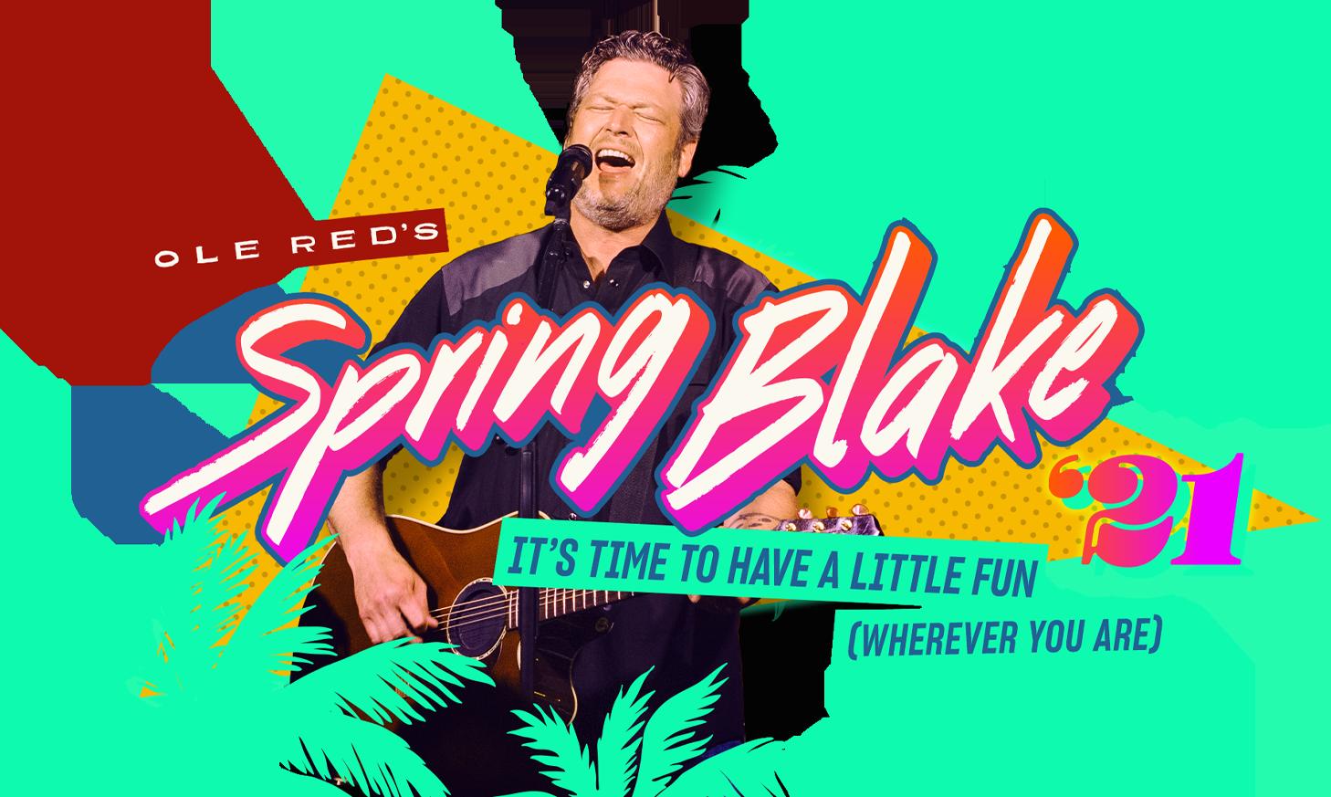 Spring Blake 2021 Sweepstakes Restaurant